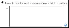 Figure 59   Enter Contact Addresses Manually